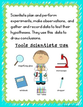 What is a Scientist?  Shared Book and Reader