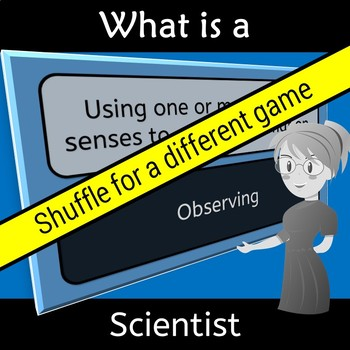 STEM What is a Scientist Vocabulary Words