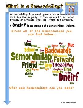 What is a Semordnilap?