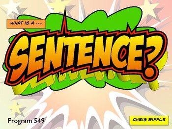 What is a Sentence?