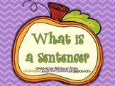 What is a Sentence -- Halloween Style