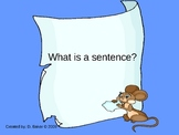 What is a Sentence Powerpoint