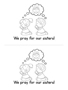 What is a Sister? Emergent Reader