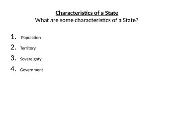 What is a State? Theories? And What is the Purpose of Government?