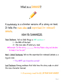 What is a Summary? From story to summary!