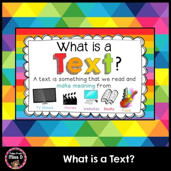 What is a Text?