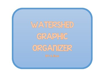 What is a Watershed? Notes Graphic Organizer