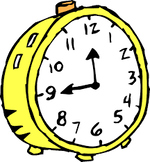 What is a Clock and its Parts? Anchor Chart Plus Entrance/Exit Slips