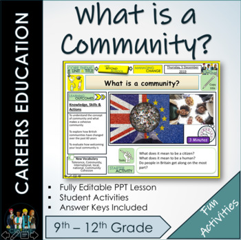 What is a community? Lesson