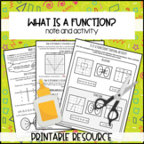 What is a function? Printable Resource