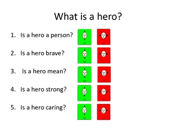 What is a hero?