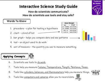 What is a scientist? Study Guide & Test Combo