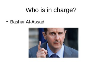 What is all this talk about Syria?