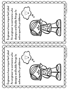 What is an Engineer? Printable Shared Book and Reader
