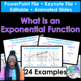 What is an Exponential Function PowerPoint/Keynote Presentation