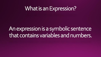 What is an Expression? eBook