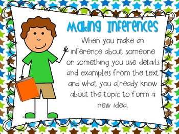 """What is an inference"" mini poster"