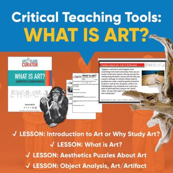 What is art? Aesthetics Art Lesson Bundle