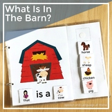 AAC Core Vocabulary Interactive Book: What is in the Barn?