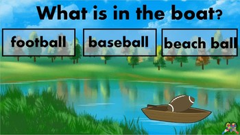 What is in the Boat (Vocabulary) Book