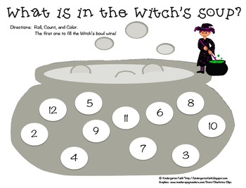 What is in the Witch's Soup?