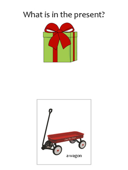What is in the present?  Interactive book and Worksheet Packet....