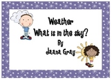 What is in the sky - Weather unit