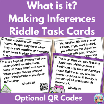 What is it? Inferencing Task Cards