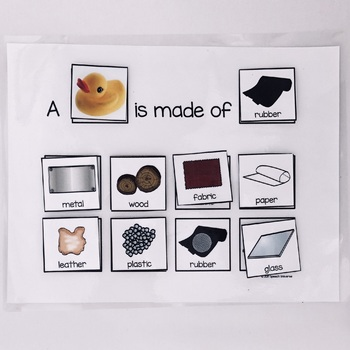 What is it Made Of? A Composition Describing Activity