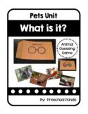 Pet Vocabulary Cards Preschool PreK Kinder