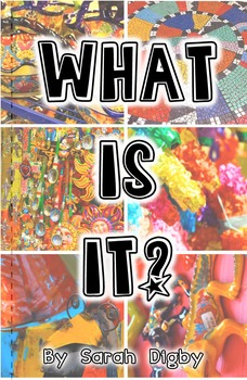 """What is it?"" – Printable HFW and Sight Word Book, Pre-K/Kinder Level"