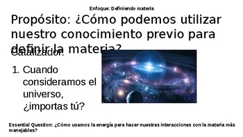 What is matter game _ESP slides