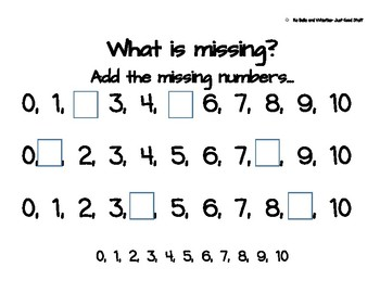 Which Number is missing? (within 10)