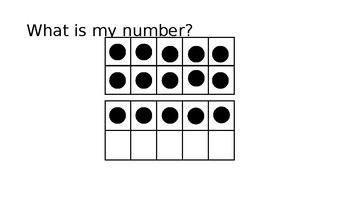 How many? What is my Number? 11 - 20 Counting Counters On a Ten Frame