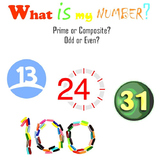 What is my number?  Prime or composite?  Odd or even?