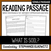 What is soil? Reading Passage
