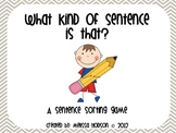 What is that? A Sentence Sort