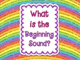 What is the Beginning Sound? Common Core Aligned Board Games