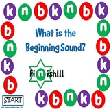 What is the Beginning Sound? Game Board #2 - Letters B, K, and N