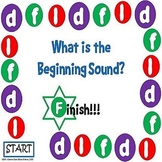 What is the Beginning Sound? Game Board #3 - Letters D, F, and L