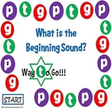 What is the Beginning Sound? Game Board #5 - Letters G, P, and T