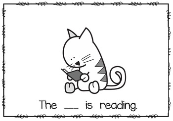What is the Cat Doing? emergent reader
