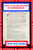 What Is the DECLARATION OF INDEPENDENCE? M. C. Harris (Who HQ) SUPER WORKSHEETS