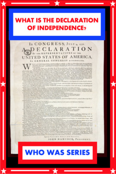 What is the Declaration of Independence? Book Unit