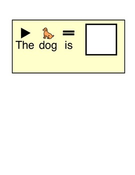 What is the Dog Doing?- Adapted Book for Autism