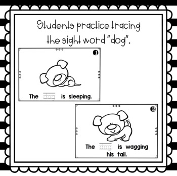 What is the Dog Doing?  emergent reader