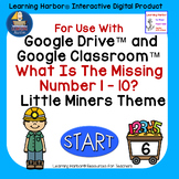 What is the Missing Number? 1 - 10 Kindergarten