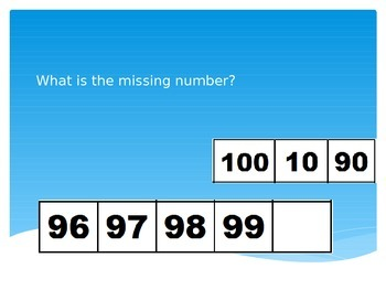 What is the Missing Number