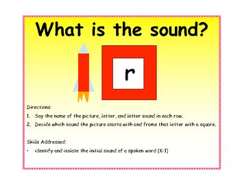 What is the Sound File Folder Game