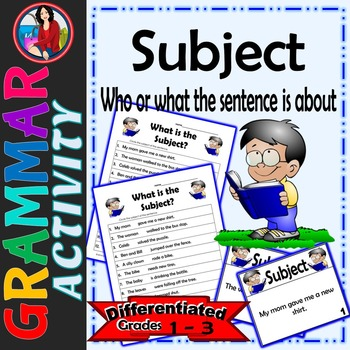 Subject, Identify the Subject of a Sentence